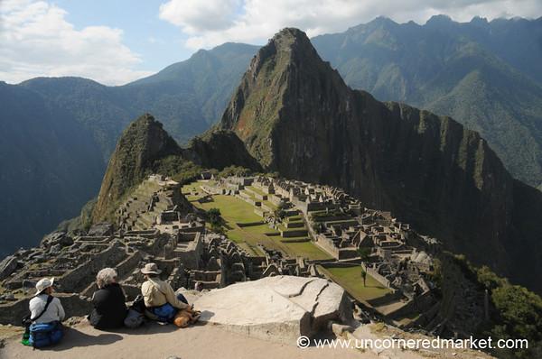 Appreciating Machu Picchu, Peru