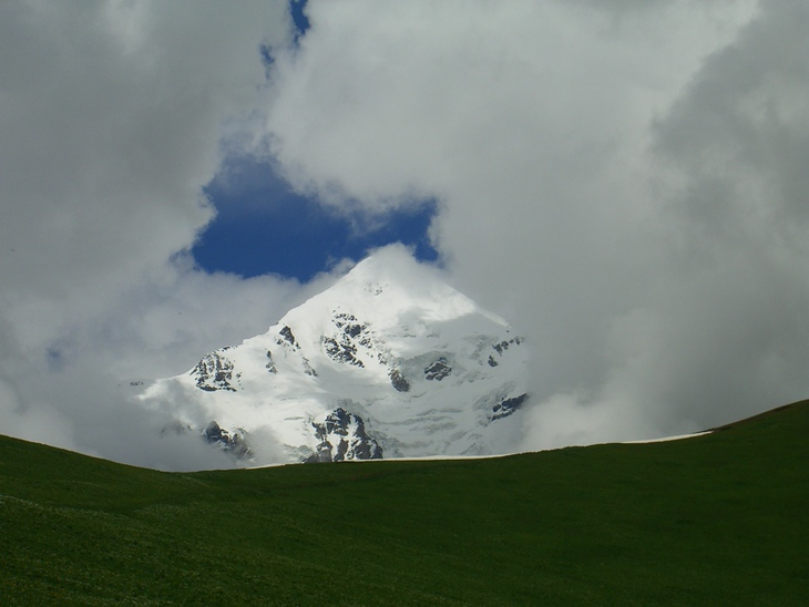 The Clouds, the Grass, and the Peak - Svaneti, Georgia