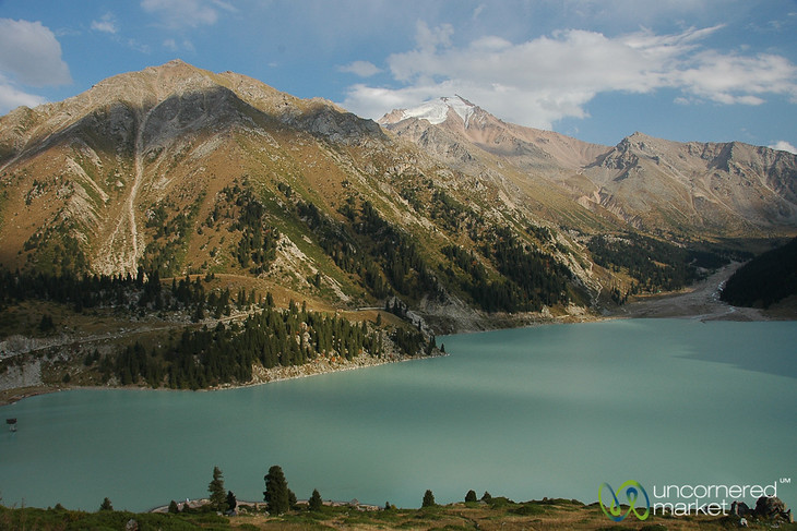 Big Almaty Lake in Tian Shan Mountains - Almaty, Kazakhstan