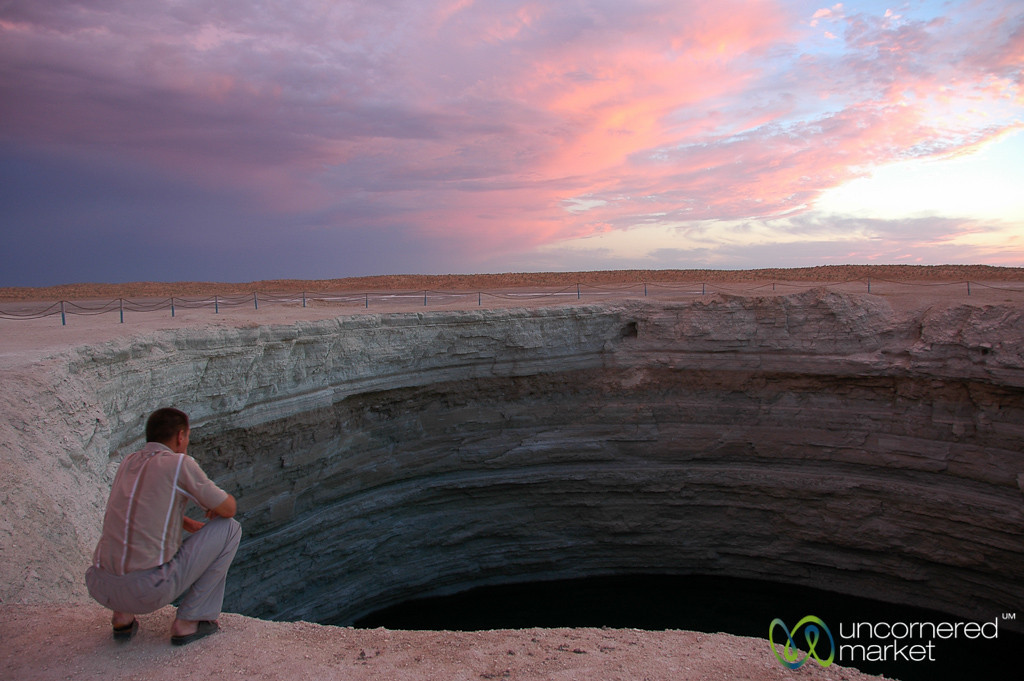 Crater in the Desert - Darvaza, Turkmenistan