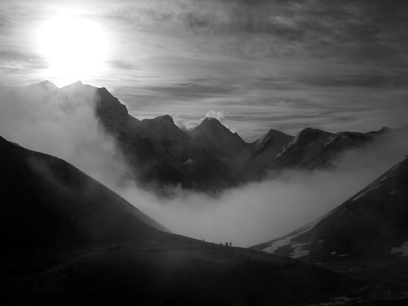 Dawn at Thorong La Pass - Annapurna Circuit, Nepal