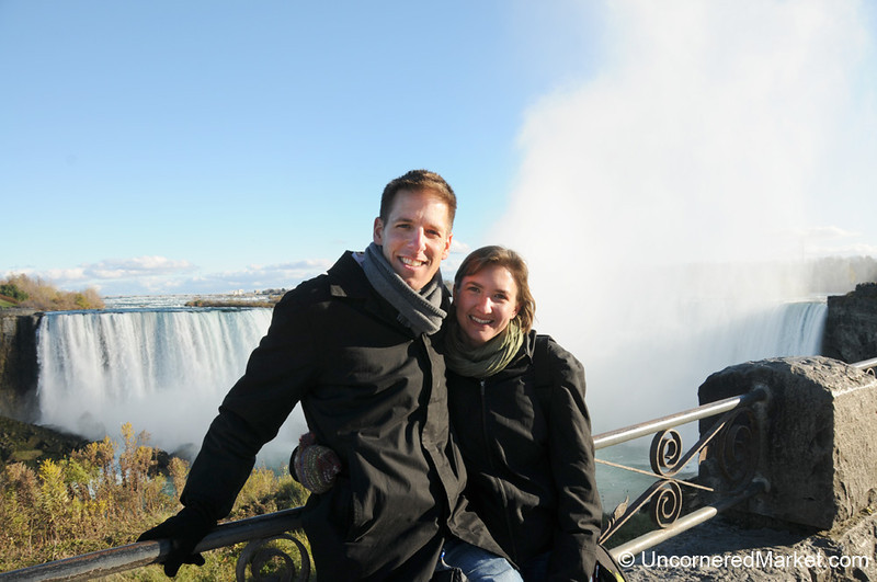 Surprise Visit to Niagara Falls!