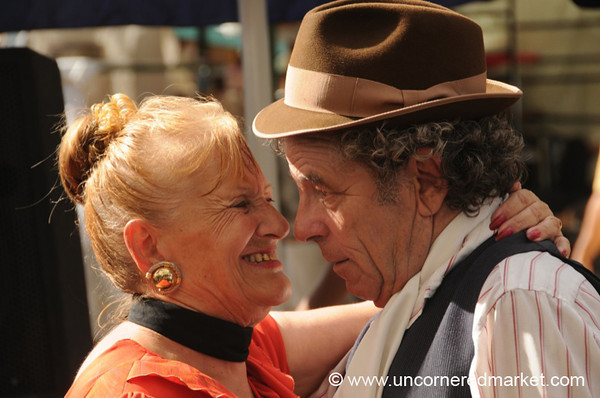 Tango at the San Telmo Sunday Market - Buenos Aires, Argentina