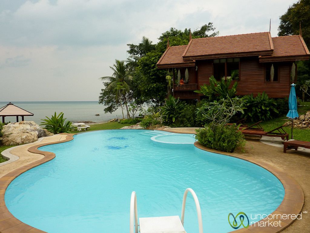 A View of Our House on Koh Samui - Thailand