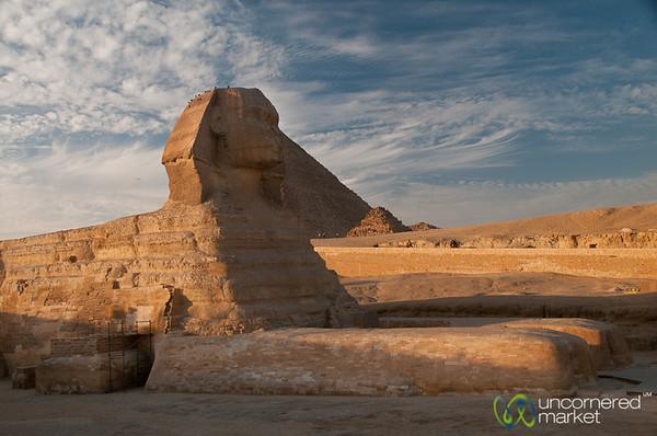 Great Sphinx - Giza Pyramids, Egypt