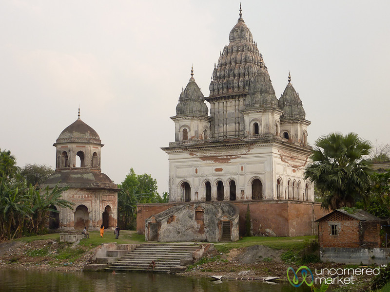 Shiva Hindu Temple in Puthia, Bangladesh