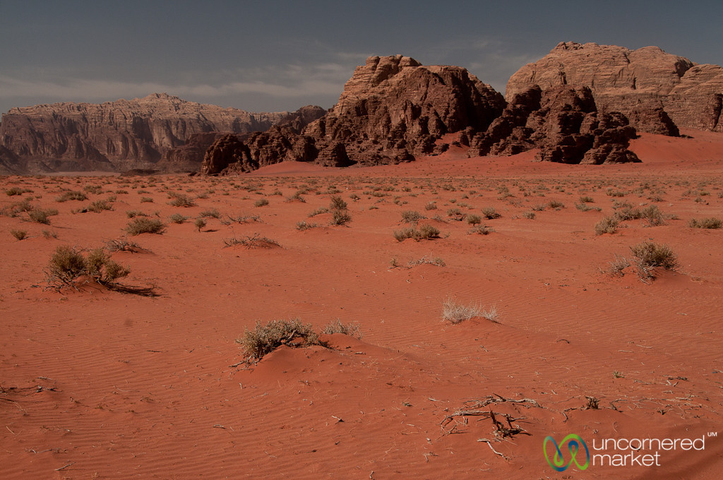 Red Sands of Wadi Rum in Jordan