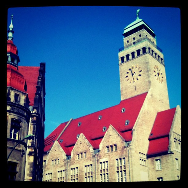 Rathaus Neukolln, #Berlin - Hip and Traditional
