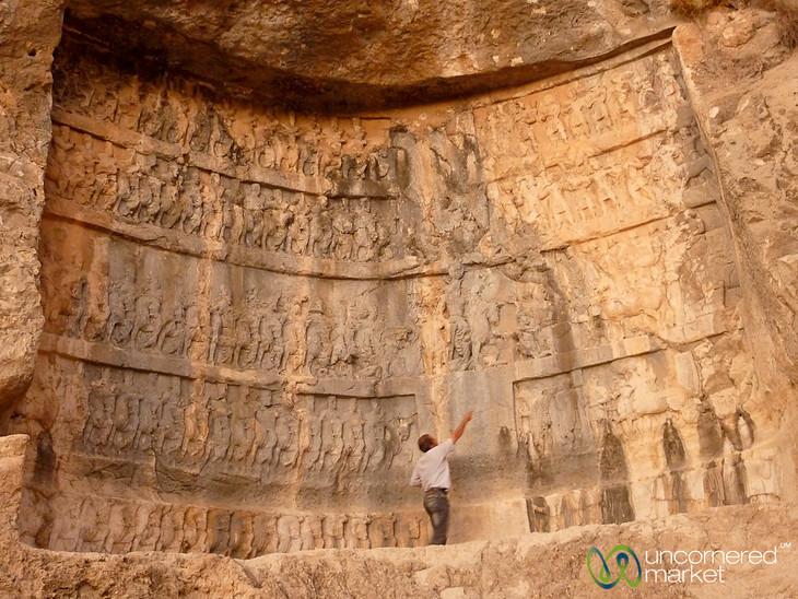 Bishapur Reliefs - Iran