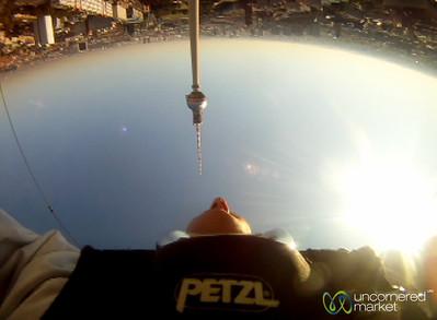 Base Flying at Alexander Platz, Berlin
