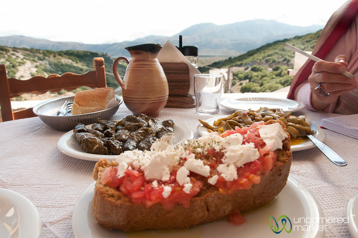 Crete Food with a View - Lassithi, Crete