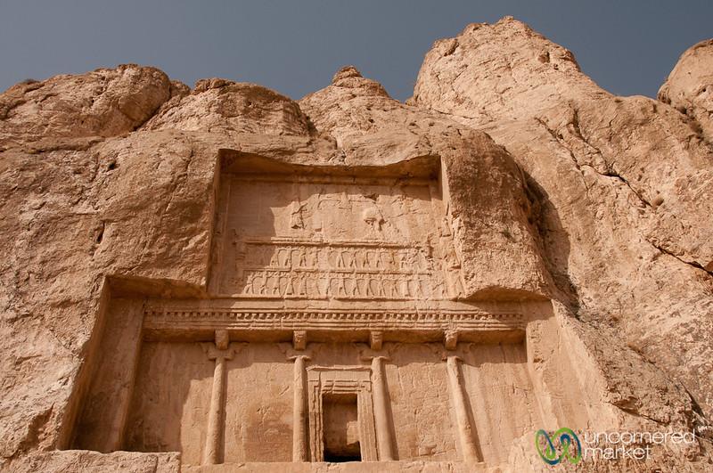 Tomb of Darius the Great - Naqsh-e_Rustam, Iran