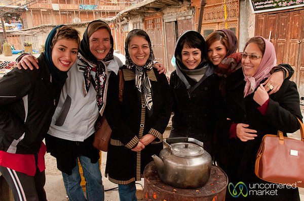 Staying Warm in Iranian Mountains - Masuleh, Iran