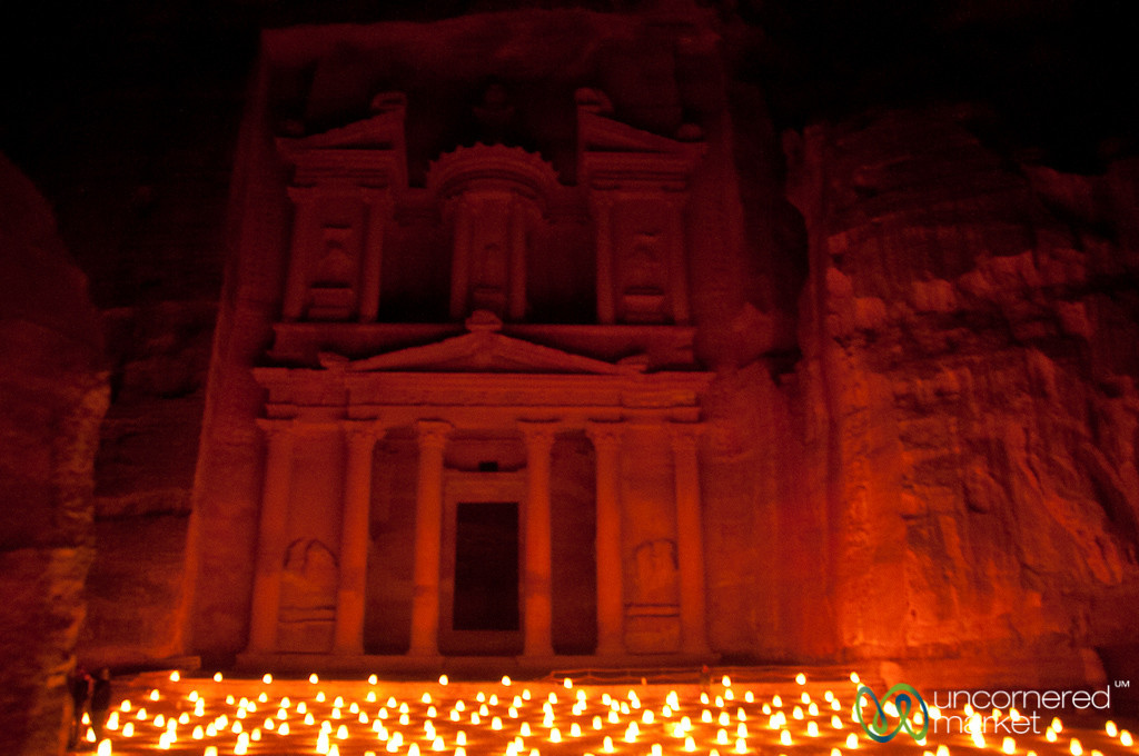 Petra By Night in Jordan
