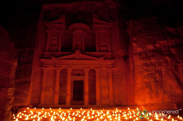 Petra By Night in Jordan