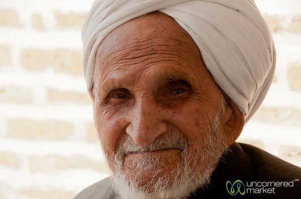 Iranian Elder - Yazd, Iran