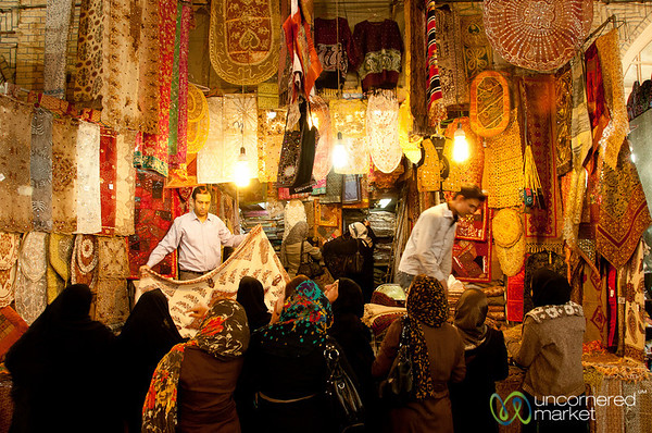Buying Iranian Gifts - Shiraz, Iran