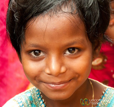 Beautiful Eyes and Smile in Old Dhaka - Bangladesh