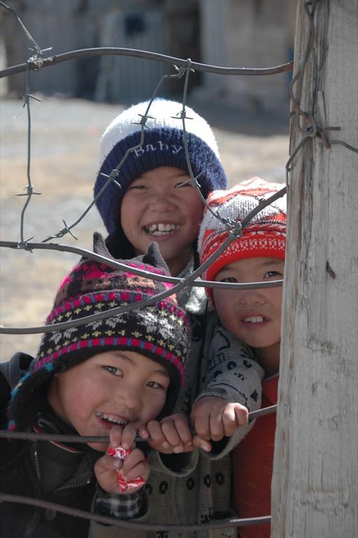 Kyrgyz Mountain Kids - Sary Tash, Kyrgyzstan