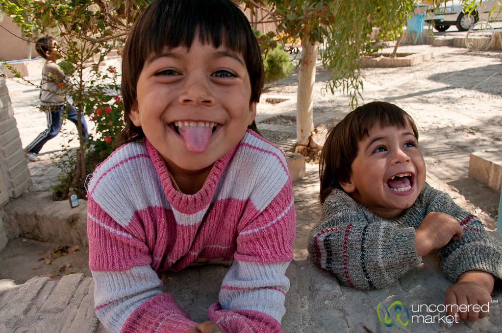 Kids being Kids - Yazd, Iran