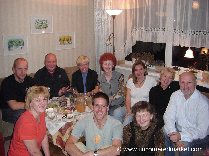 English Class Reunion - Marjamaa, Estonia