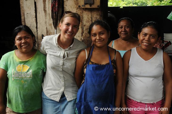 Audrey and the Girls - Masaya, Nicaragua