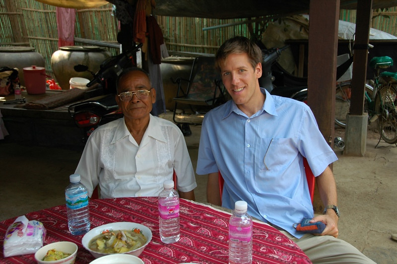 A New Friend - Battambang, Cambodia