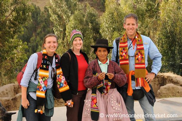 Beautiful Andean Crafts - Yauli, Peru