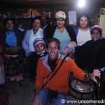 Dan With a Microcredit Group - Ingapirca, Ecuador