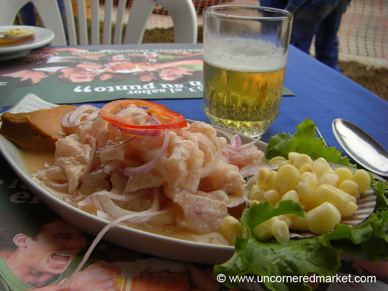 Ceviche For Lunch - Lima, Peru