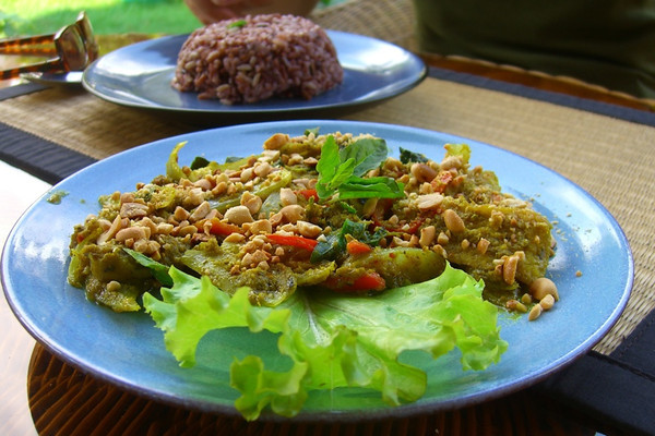 Fish Sauteed in Saffron and Khmer Herbs - Siem Reap, Cambodia