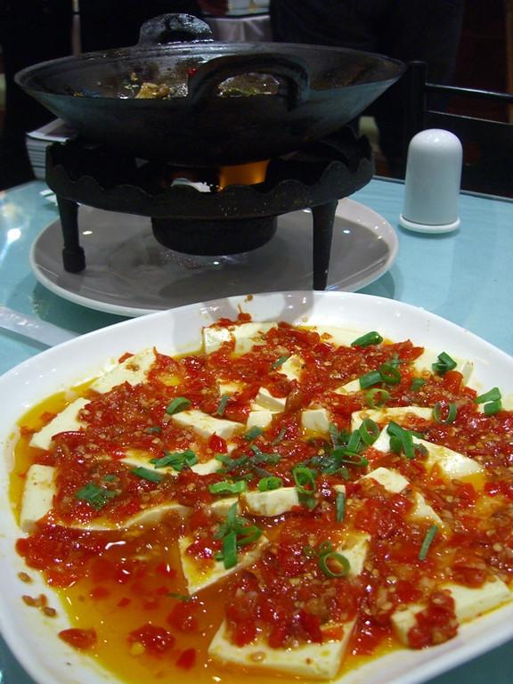 Tofu in Hot Sauce - Urumqi, China