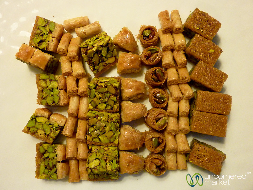 Evening Sweets at the Four Seasons in Amman, Jordan