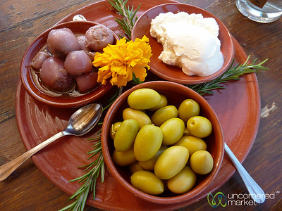 Cretan Food at Agreco Farm - Rethymnon, Crete