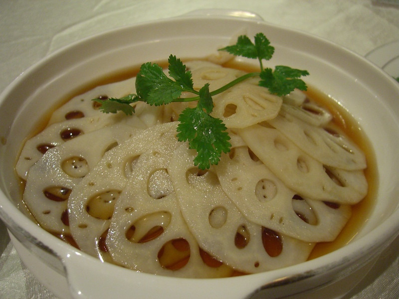 Marinated Lotus Root - Beijing, China