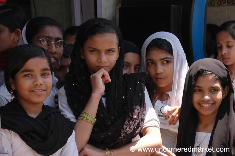 Shy Indian Girls - Kerala, India