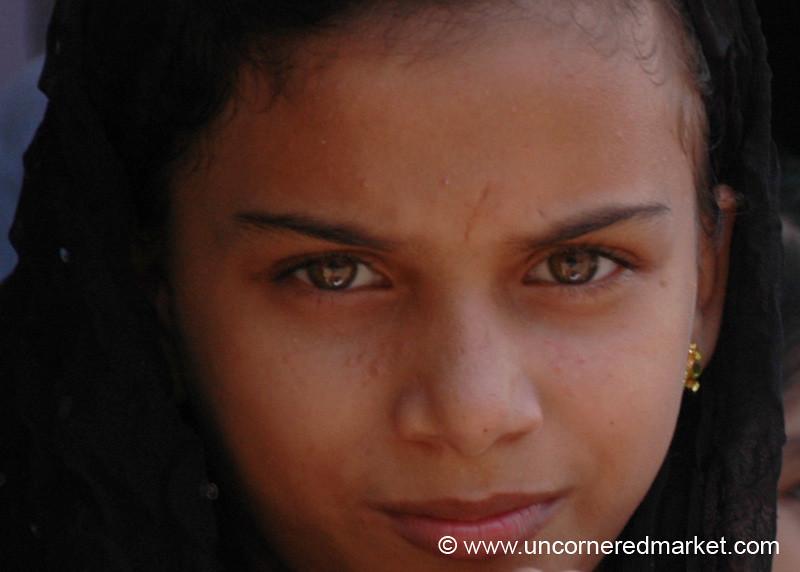 Mysterious Eyes - Kochi, India