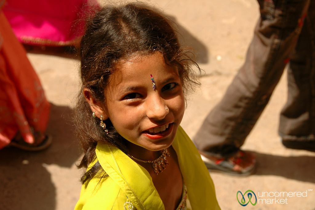 Dressed Up for the Festival - Bikaner, India