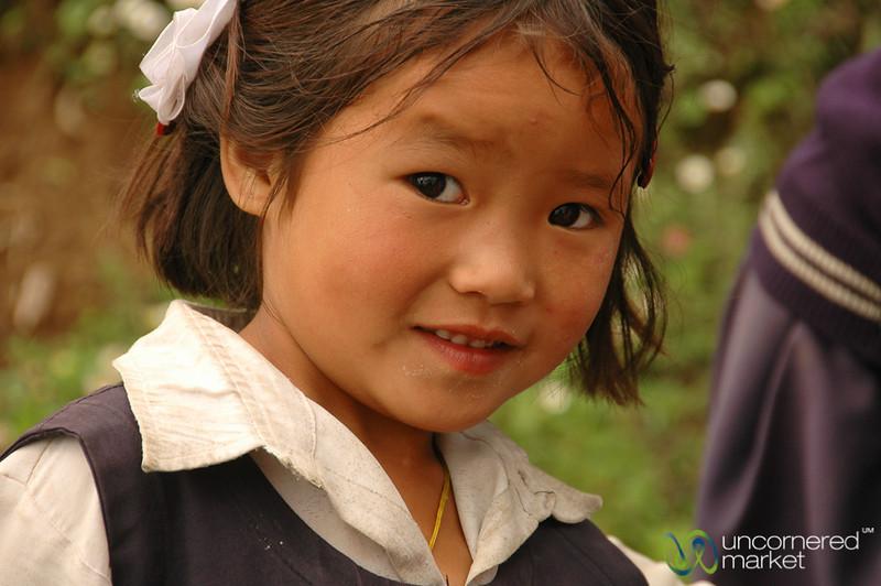 Shy Smile - Sikkim