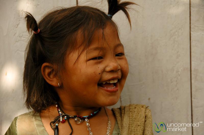 Hearty Laugh - Annapurna Circuit, Nepal