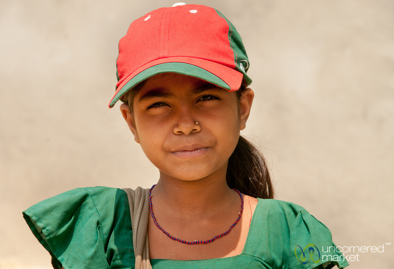 Ready for School with Matching Baseball Cap - Bangladesh