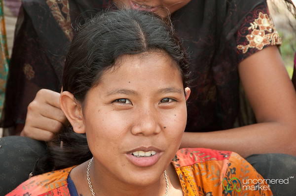Garo Girl in Village - Srimongal, Bangladesh