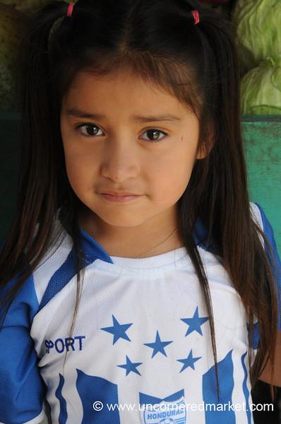 Honduran Football Fan - La Esperanza, Honduras