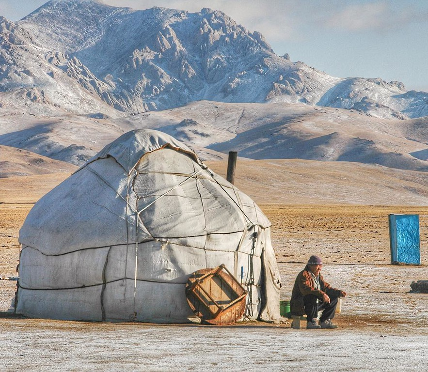 Today, we fly. We're excited to return to one of our favorite destinations: Kyrgyzstan. Years ago we spent close to two months there while making our way through Central Asia. This time, we look forward to trekking a new area in the Tian Shan Mountains...and to attending the World Nomad Games.