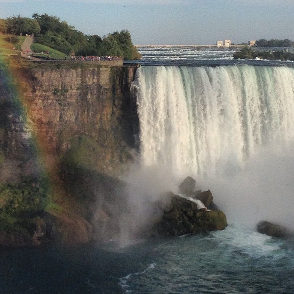 Niagara Falls, the rainbow generator. Making wishes from the Canadian side. via Instagram http://ift.tt/1sK2mye