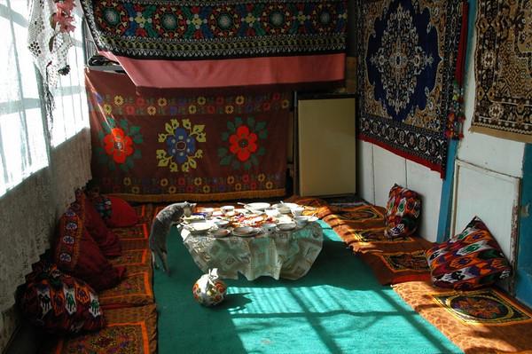 Inside a Pamiri Home - Langar, Tajikistan