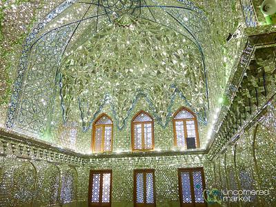 Aramgah-e Shah-e Cheragh (Mausoleum) in Shiraz, Iran