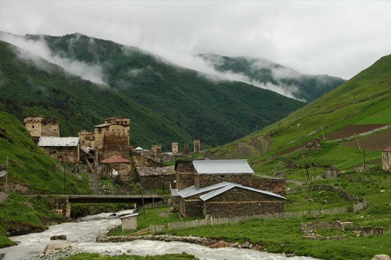 Mountain Village - Svaneti, Georgia