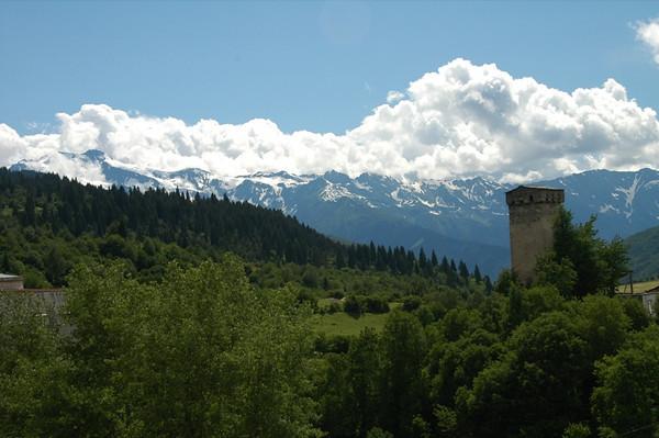 Svaneti Mountain Landscape - Svaneti, Georgia