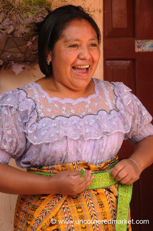 Kiva Borrower, Indigenous Guatemalan Woman